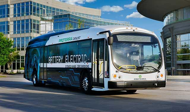Washington D.C. Circulator Deploys Proterra Electric Buses Across Nation's Capital