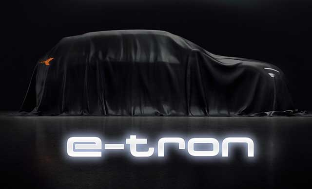 Audi E-Tron To Make Global Debut In San Francisco On Sept. 17