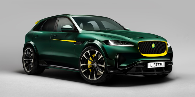 """Lister Is Turning The Jaguar F-Pace Into The """"World's Fastest SUV"""""""