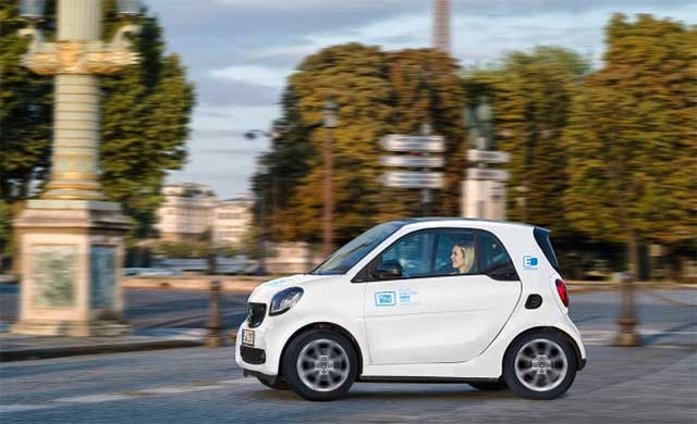 car2go Announces Launch In The French Capital For January 2019