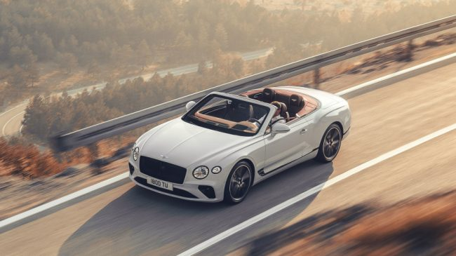 Bentley Continental Gt Convertible Is Here, And It's A Stunner