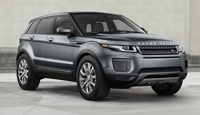 New Range Rover Evoque Previewed by Wire Form Sculptures