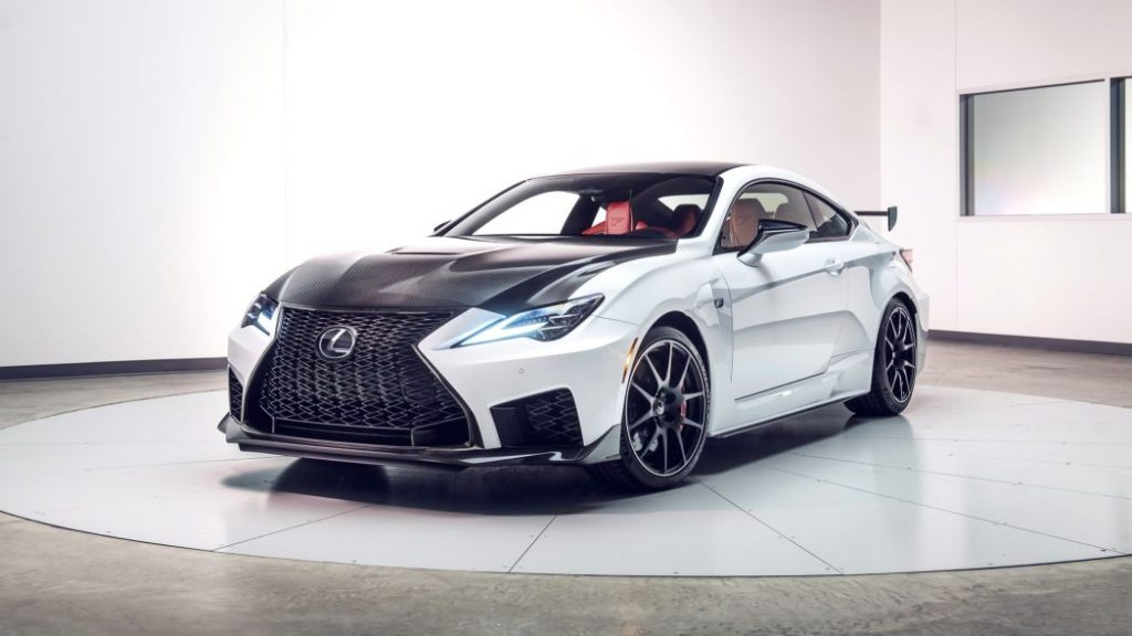 2020 Lexus Rc F Adds Hardcore Track Edition And Lots Of Carbon Fiber