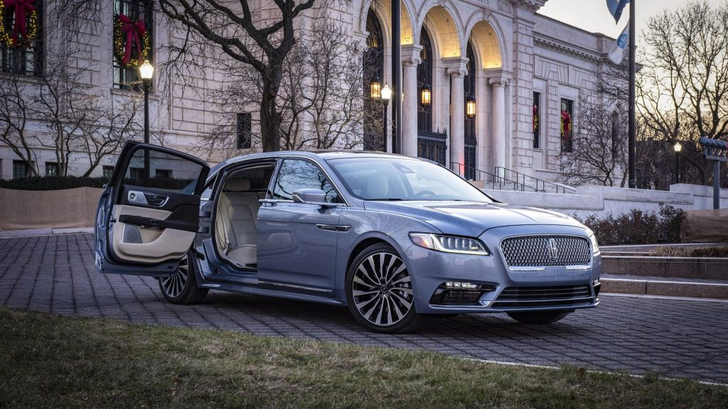 Lincoln Continental With Suicide Doors Sold Out, But Lincoln Will Make More