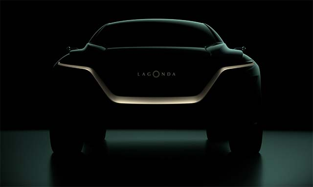 Aston Martin Lagonda To Debut Lagonda All-Terrain Concept In Geneva