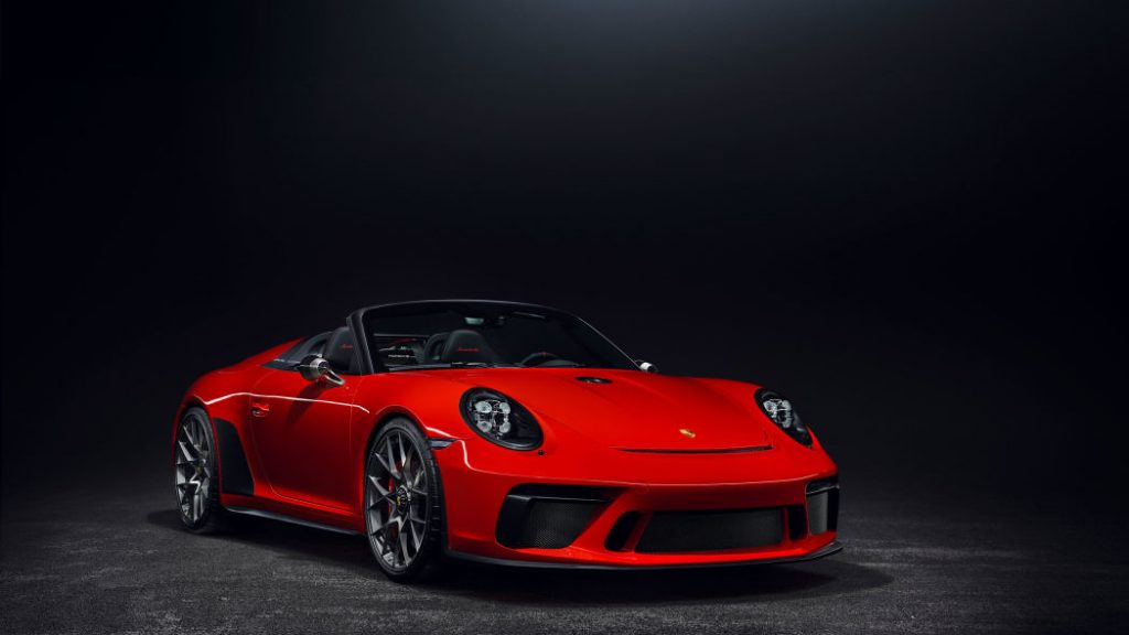 Porsche 911 Speedster Arrives In New York, With Pricing
