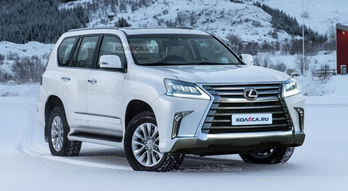 2020 Lexus GX Gets A Makeover, New Off-Road Package