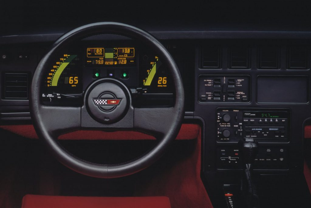 2020 Chevrolet C8 Steering Wheel