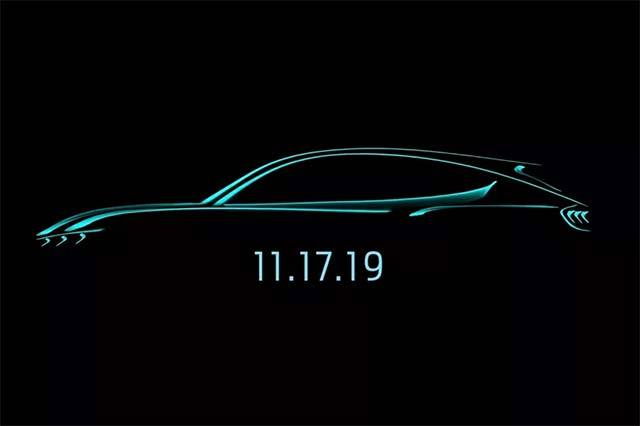 Ford Will Unveil Its Mustang-Inspired Electric Suv In November