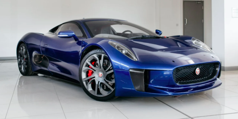 Here's Your Chance To Own One Of The Jaguar C-X75s From Spectre