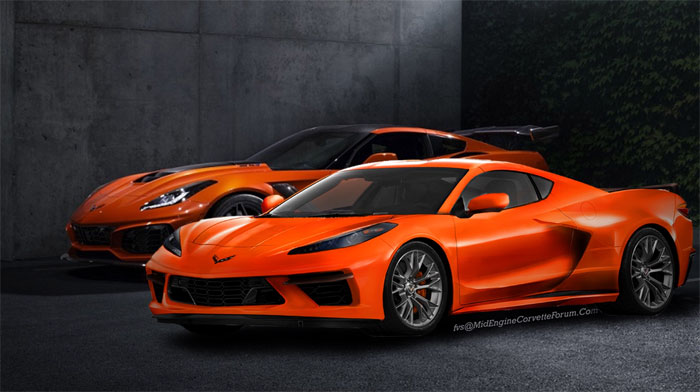 C8 Corvette Zr1 To Get Hybrid Twin-Turbo Dohc V-8 With 900 Hp!
