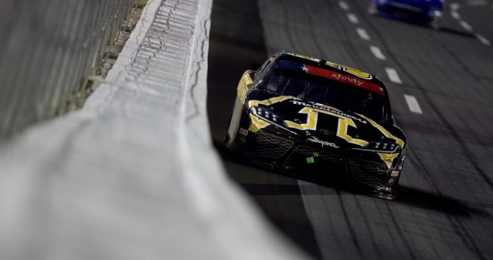 Kyle Busch Wins in Charlotte